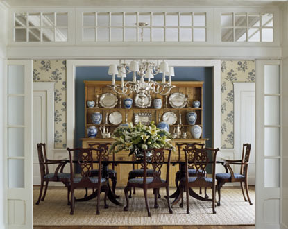 Austin Patterson Disston Architects traditional dining room