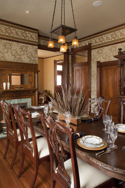 Austin Texas Residence traditional-dining-room
