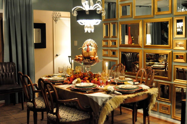 Autumn decor traditional dining room dallas by in for Dining room design questions