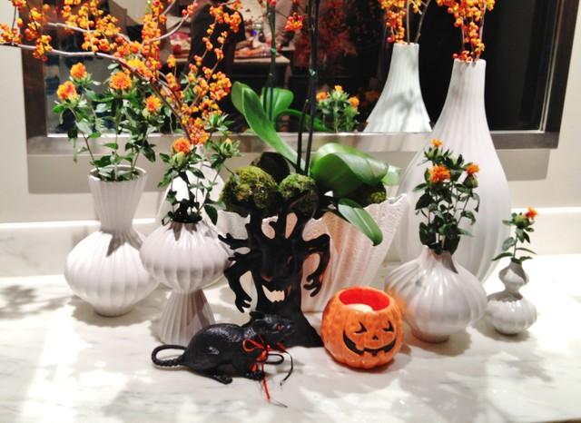 Autumn Parties! modern-dining-room