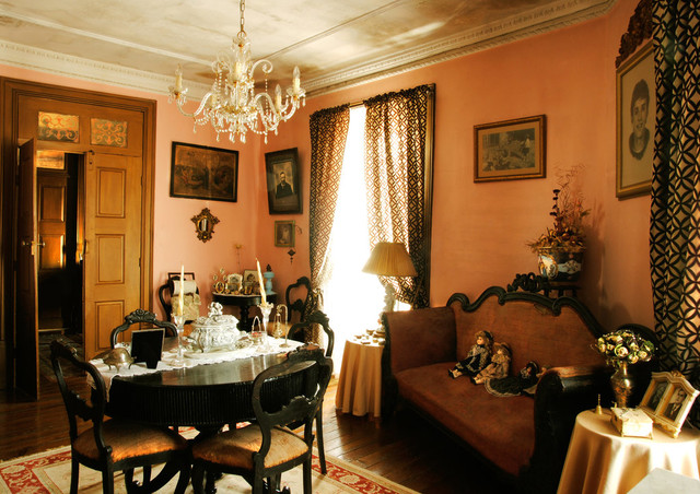 Ornate dining room photo in Other