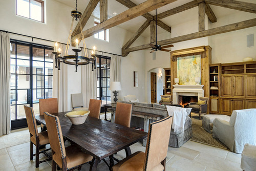 rustic dining room Refined Rustic Lighting