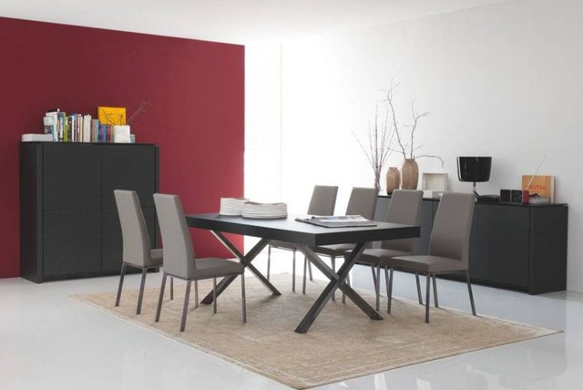Axel Table By Calligaris Modern Dining Room Los Angeles By