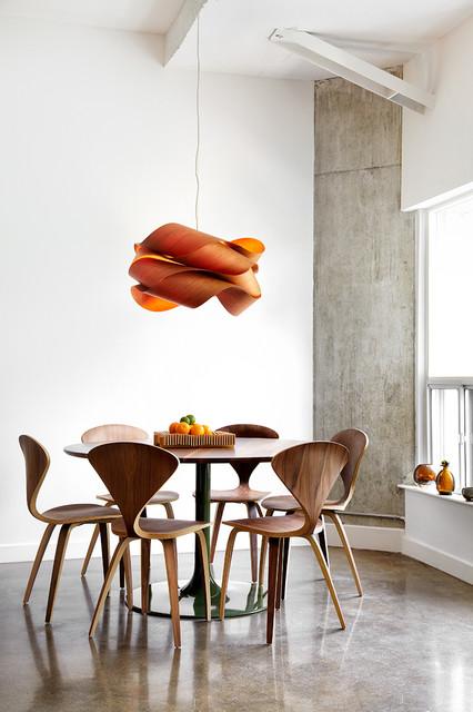 Stephane Chamard · Interior Designers. Bachelor Loft  Contemporary Dining Room