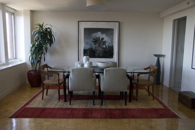 Back Bay Condo eclectic-dining-room