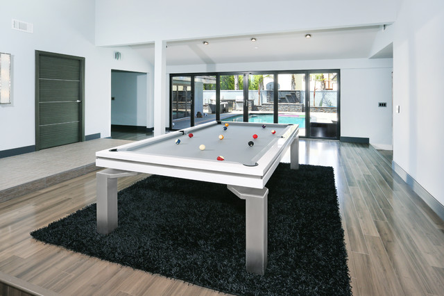 Baker Dining POOL TABLE San Clemente Modern Dining Room