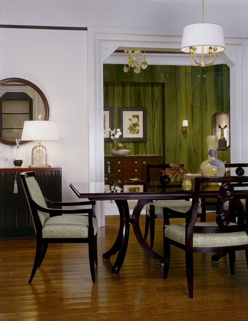 baker furniture showroom traditional dining room