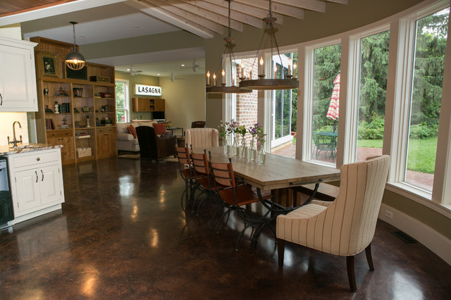 Baker Park House Frederick Md Transitional Dining Room Dc Metro By Meredith Ericksen
