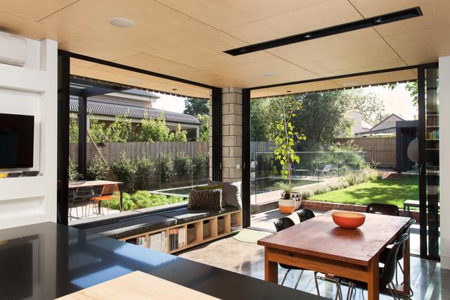 Balaclava House Contemporary Dining Room Melbourne