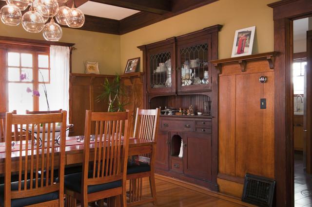 bali construction craftsman dining room san francisco by bali