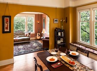 Ballard Bungalow Restoration Craftsman Dining Room Seattle By