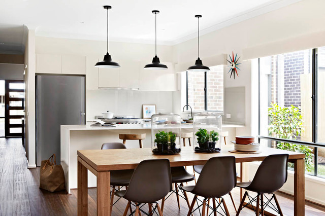 Balwyn, Orbit Display Home Contemporary Dining Room