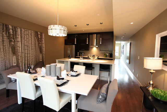 Bankview Triplex contemporary-dining-room
