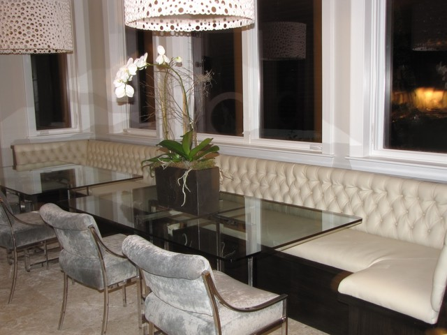 Big banquete for dining room