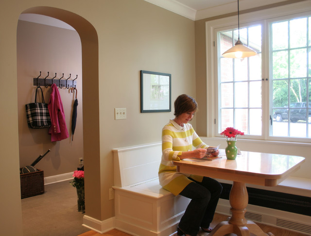 Banquette + Mud Room - Traditional - Dining Room - portland - by ...