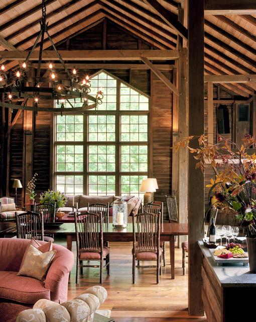 Barn Renovation - Dining Room traditional-dining-room