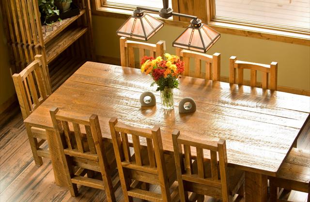 Barnwood Furniture Rustic Dining Room