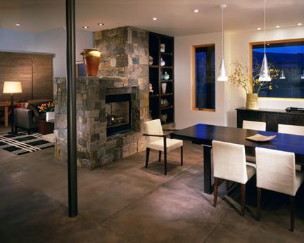 Basalt Residence modern-dining-room