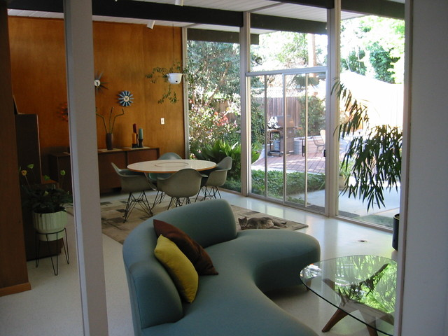 Bay Area Eichlers Modern Dining Room San Francisco
