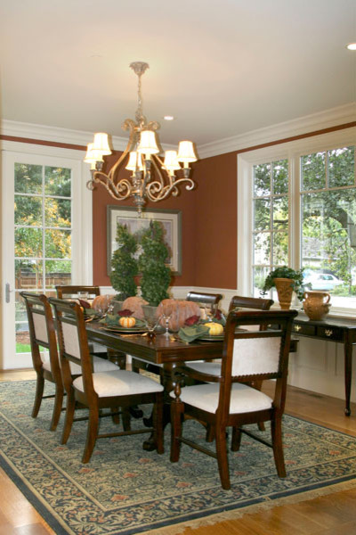 Bay Area Traditional traditional dining room