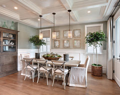 Bayshores Drive traditional dining room