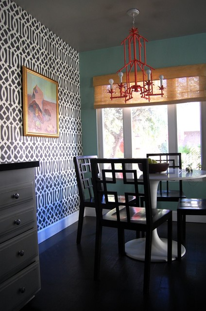 beach bungalow 8 houzz tour eclectic dining room los angeles