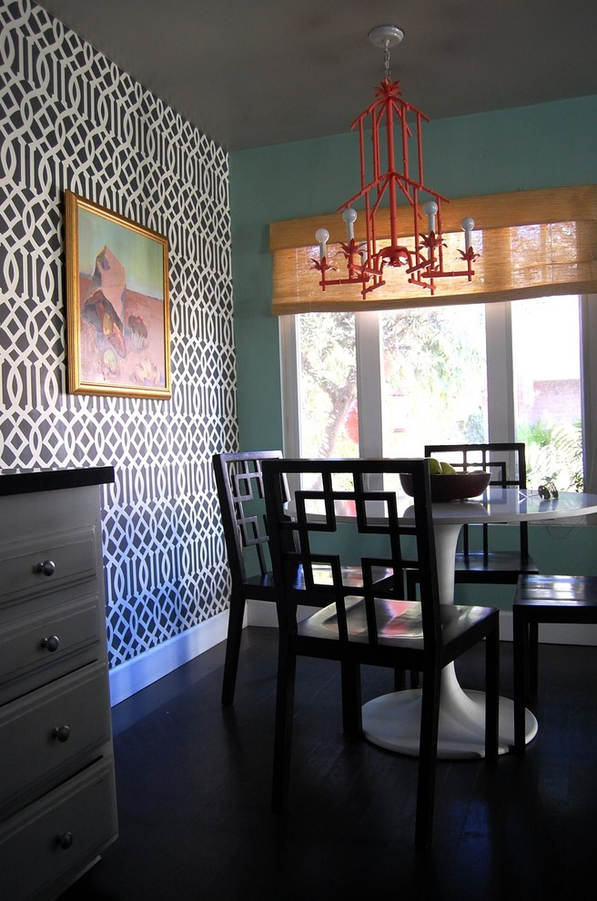 Dining room - eclectic dining room idea in Los Angeles