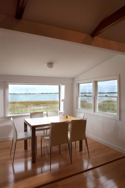 Beach Bungalow contemporary-dining-room