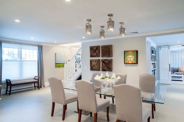 beach house coastal style dining table beach style dining room new york by olga adler. Black Bedroom Furniture Sets. Home Design Ideas
