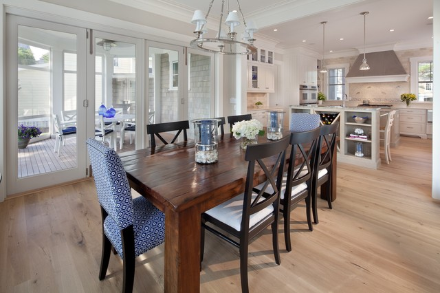 Beach house delight beach style dining room dc metro for Best dining rooms houzz