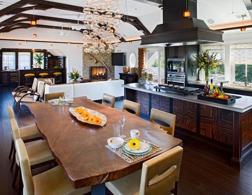 Contemporary Dining Room By Rehoboth Beach Interior Designers Decorators Bruce Palmer Coastal Design