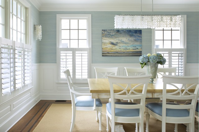 beach house classique chic salle manger new york par jodie o designs. Black Bedroom Furniture Sets. Home Design Ideas