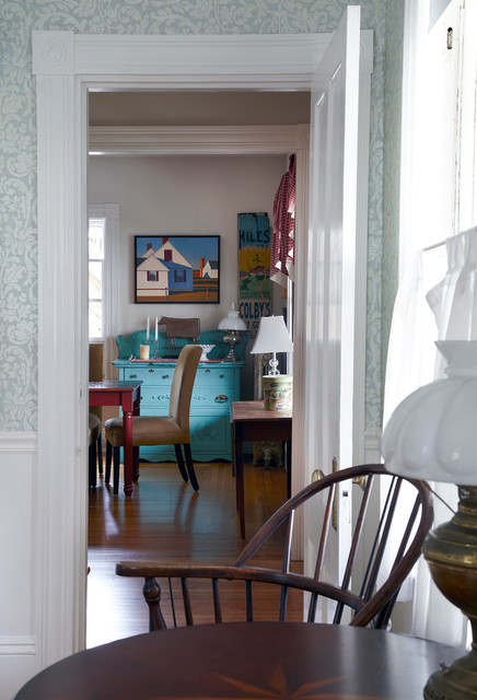 Beach House Beach Style Dining Room Other Metro By
