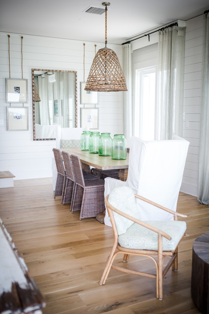 Alys beach beach style dining room by ashley for Beachy dining room ideas