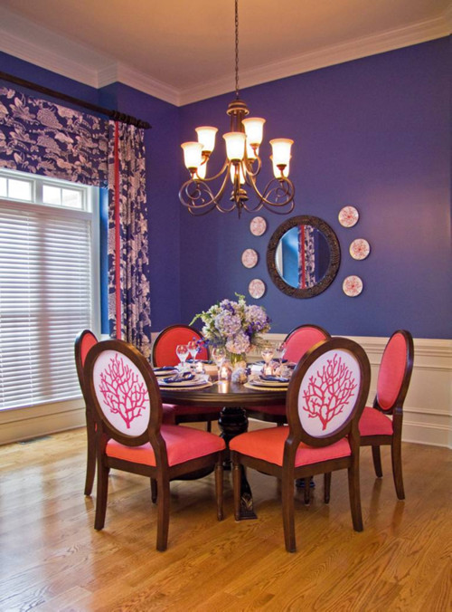 Over the Top Dining Room eclectic dining room
