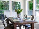 beach style dining room - This Weekend: See Artwork, Purchase Flowers and Hold the Oven Off (9 photographs)