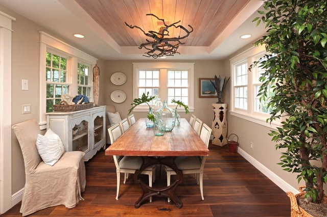 Naples Florida Cottage Tropical Dining Room other