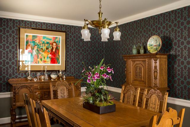 Beard Residence - Tudor-style Home Remodel - Traditional ...