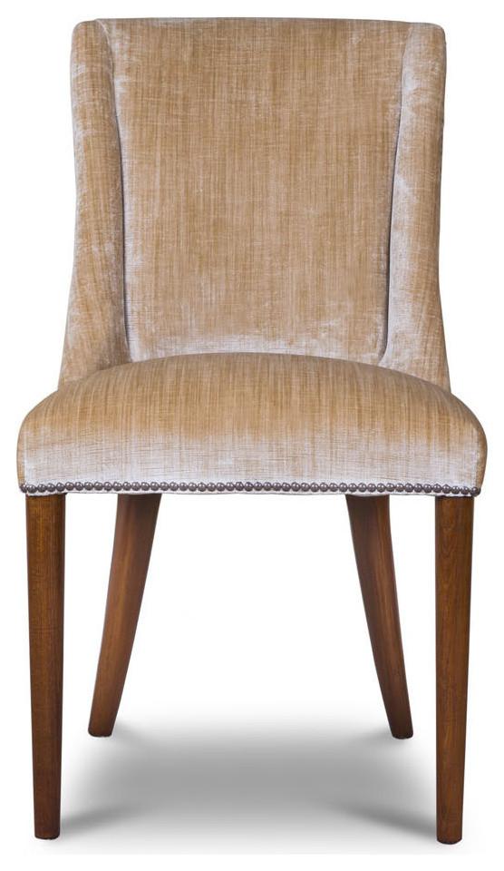 Marvelous Beaumont Fletcher Calypso Dining Chair In Como Silk Andrewgaddart Wooden Chair Designs For Living Room Andrewgaddartcom