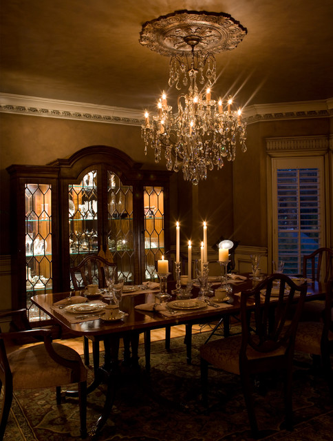 Beautiful dining room traditional dining room for Beautiful traditional dining rooms