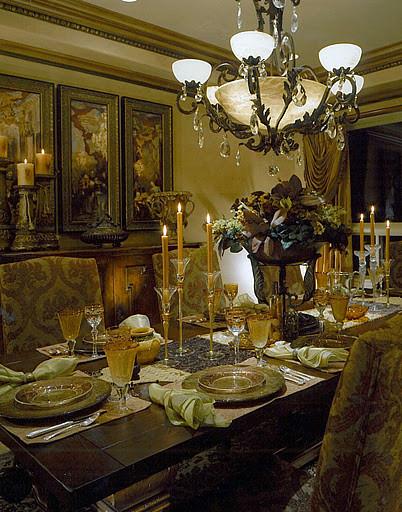 Beautiful Dining Room mediterranean-dining-room