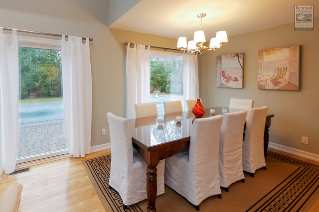 Beautiful dining rooms with new windows from renewal by for Beautiful modern dining rooms