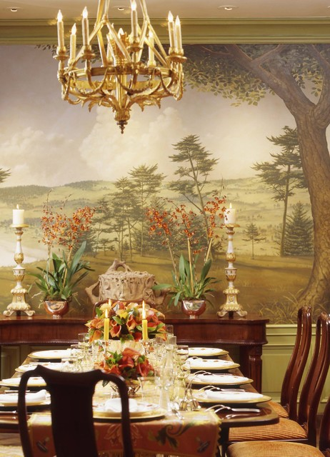 Beaux Arts Beauty traditional-dining-room