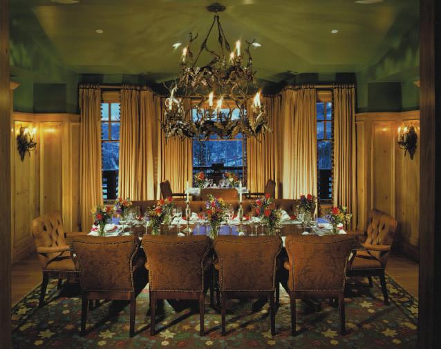Beaver Creek Residence traditional-dining-room