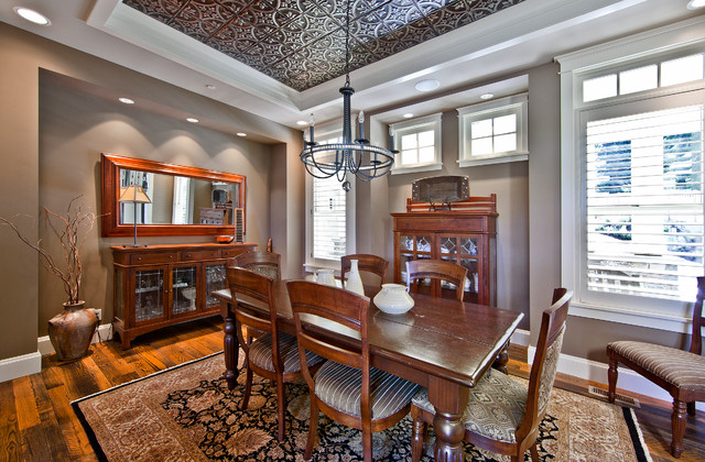 Superior Beaver Lake Retreat By Design Guild Homes Traditional Dining Room