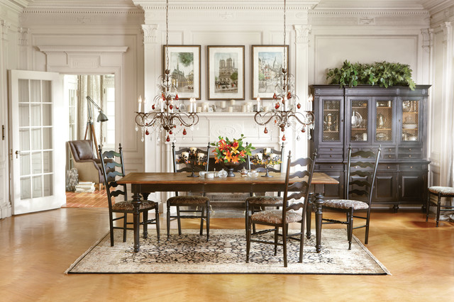 beckett dining table buffet hutch traditional dining room