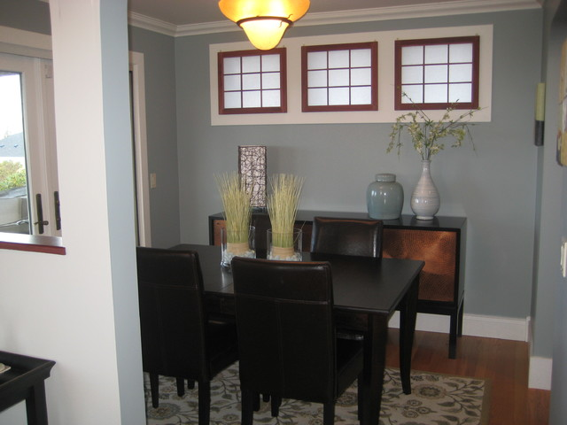 And Afters West Seattle Private Decorating Traditional Dining Room