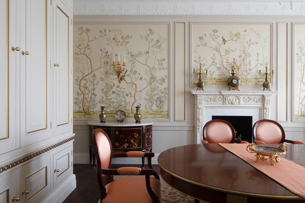餐厅简欧风格效果图大全2017图片_土拨鼠极致写意餐厅简欧风格装修设计效果图欣赏
