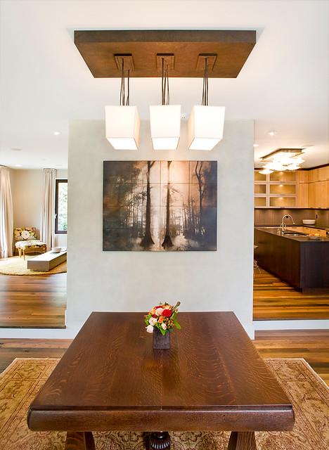 Belmont Lofts modern-dining-room