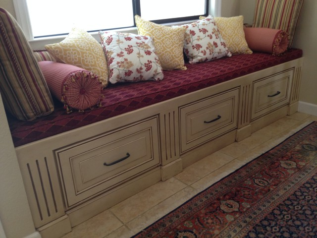 bench cushions traditional dining room sacramento